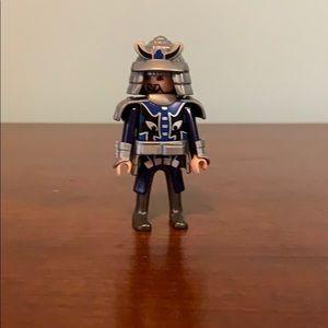 2004 Blue Playmobil Knight